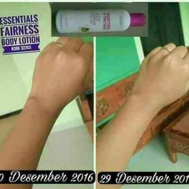 Esensial N Fairnes Body Lotion