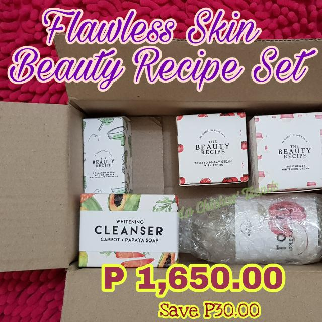 Flawless Skin BEAUTY RECIPE SET