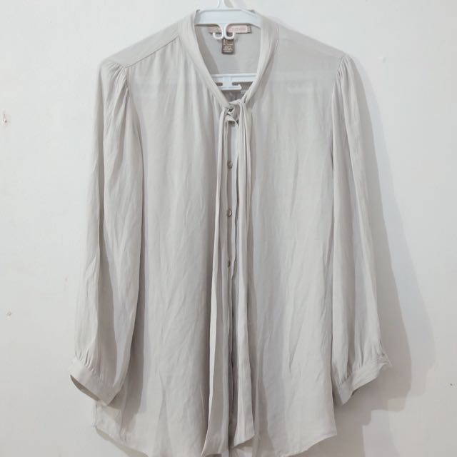 Forever 21 Gray Blouse