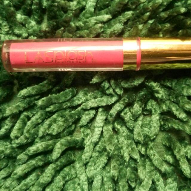 (FREE ONGKIR SeIndonesia) Free / Gratis Liquid Lipstik La Splash Original Untuk Pembelian Sepatu / Make Up