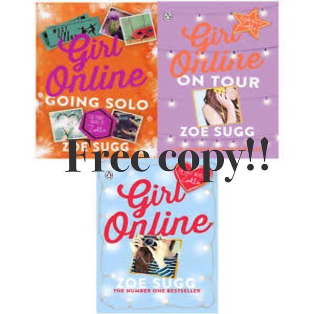 Free Ebook - Girl Online Series by Zoe Sugg