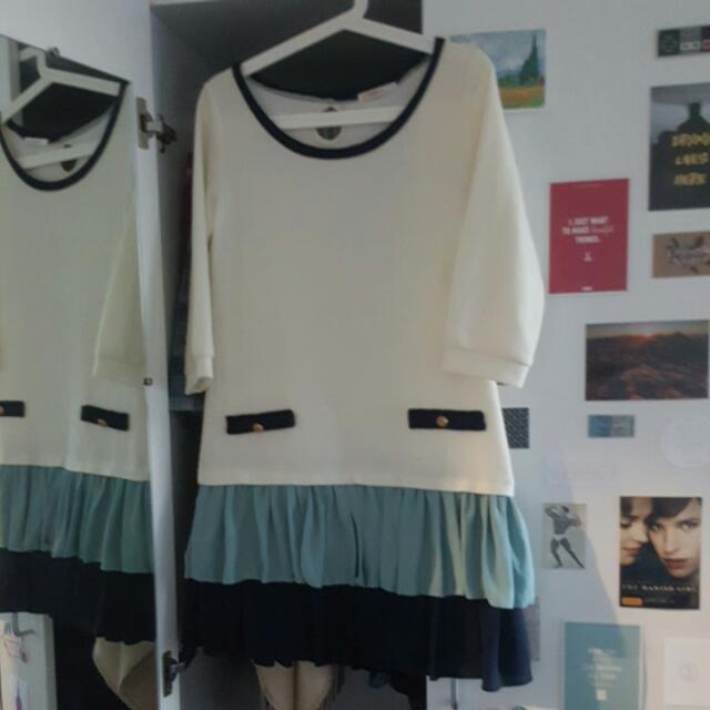 Free Size Korean Dress