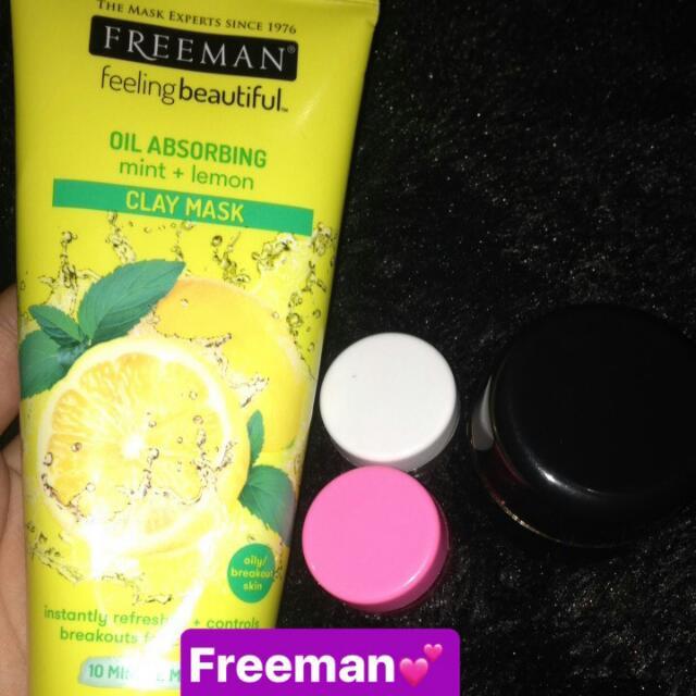 Freemant  Lemont + Mint Clay Mask