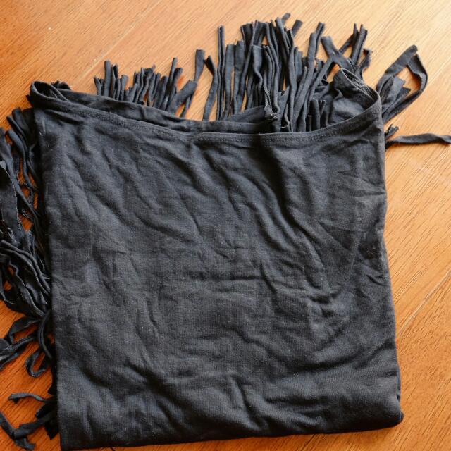 fringe black top