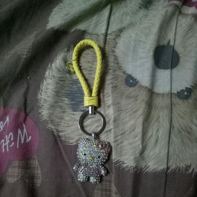 Gantungan Kunci Hello Kitty Blink