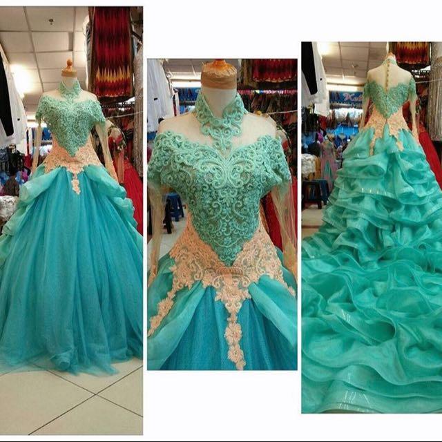 Gaun Pengantin Kebaya Modern Cantik Olshop Fashion Olshop Wanita