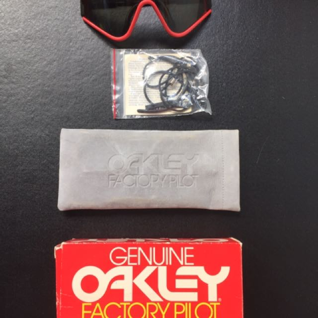 Genuine Oakley Factory Pilot Eyeshade System Sun Glasses
