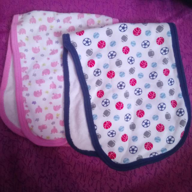 Gerber burp cloth