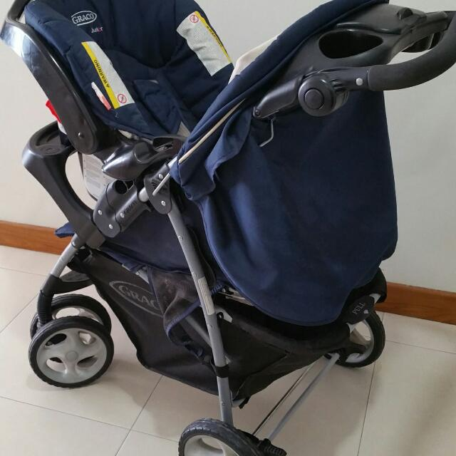 Graco Stroller And Baby Car Seat Combo Babies Kids Strollers Bags Carriers On Carousell