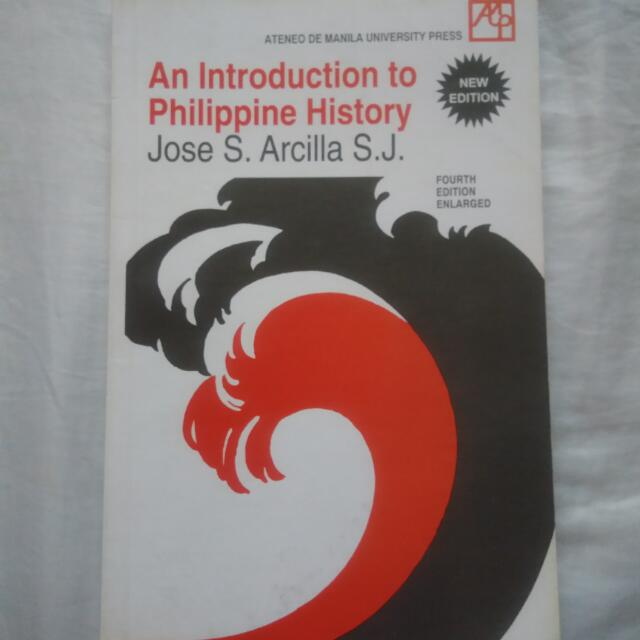 Grade 11 Book An Introduction To Philippine History