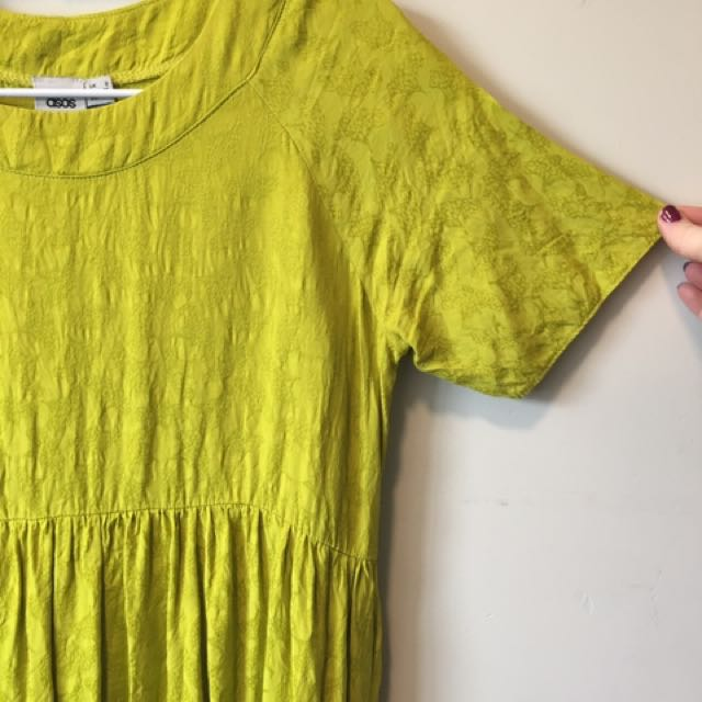 Green Baby Doll Dress