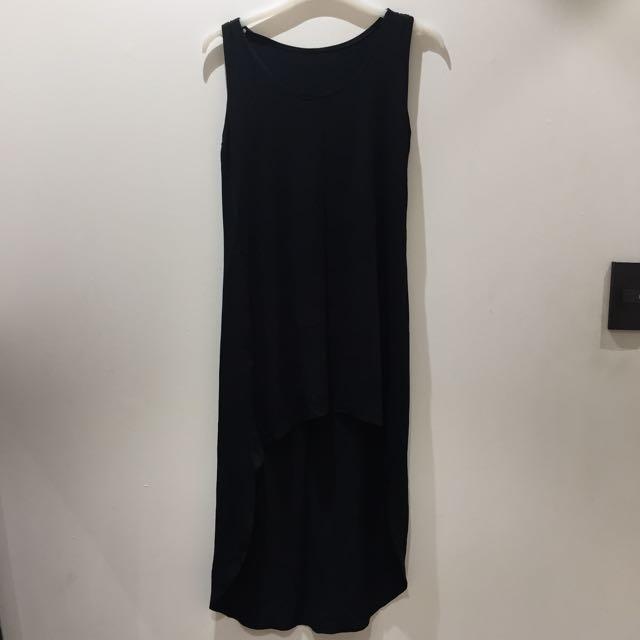Black High Low Dress
