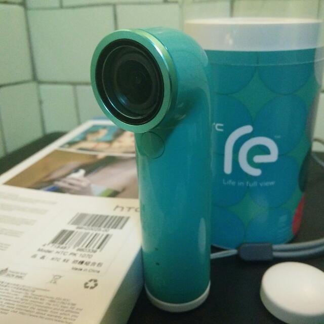 HTC RE 原廠盒裝 加贈防護套件(價值950) 防水相機 防水攝影機 非gopro