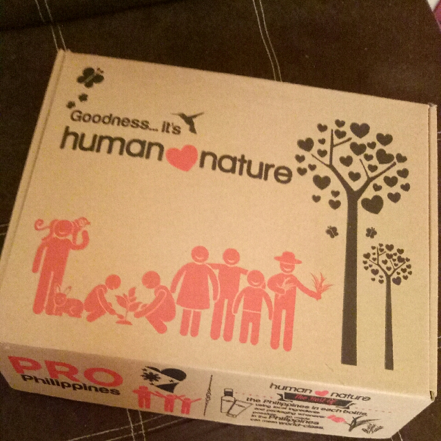 Human Nature Massage kit