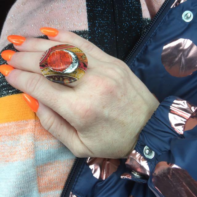 Ikita (French Brand) Resin Ring