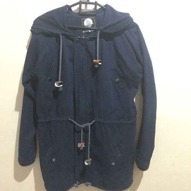 Jacket Parka Blue Navy