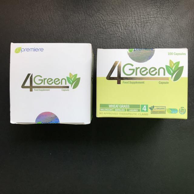 JC Premiere 4 Green