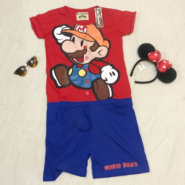 JUMPSUIT MARIO BROS