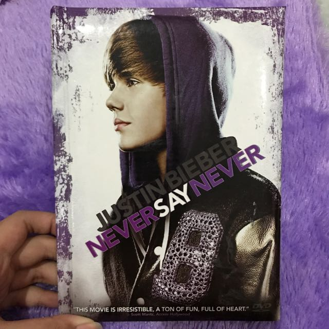 JUSTIN BIEBER NEVER SAY NEVER ORIGINAL DVD