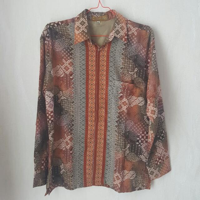 Kemeja Batik Untuk Kerja / Kondangan