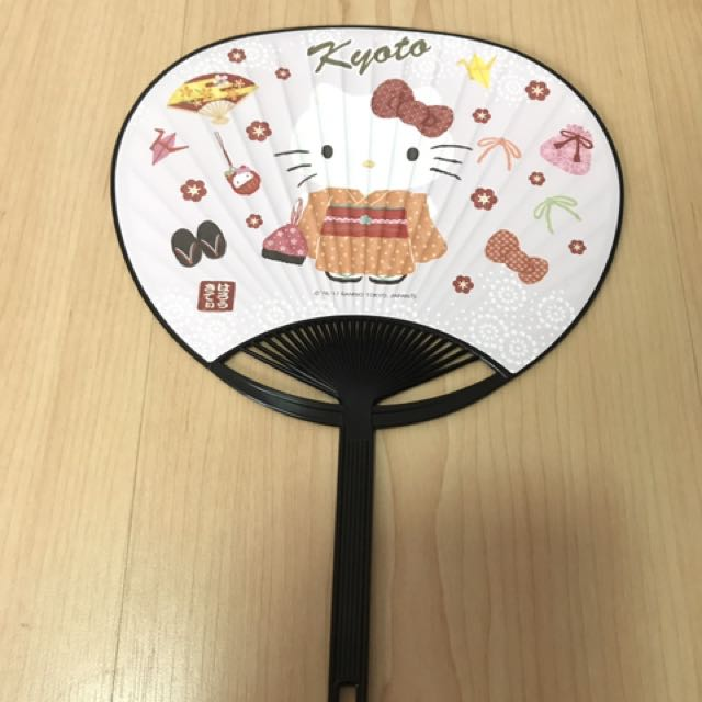 Kipas Tangan Sanrio Hello Kitty Original
