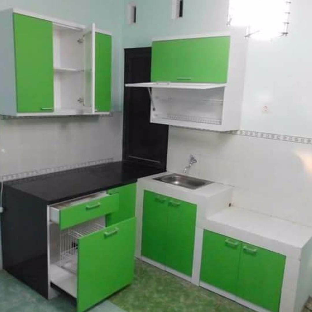Kitchen Set, Lemari Baju, Etalase, Lemari Bawah Tangga Dll