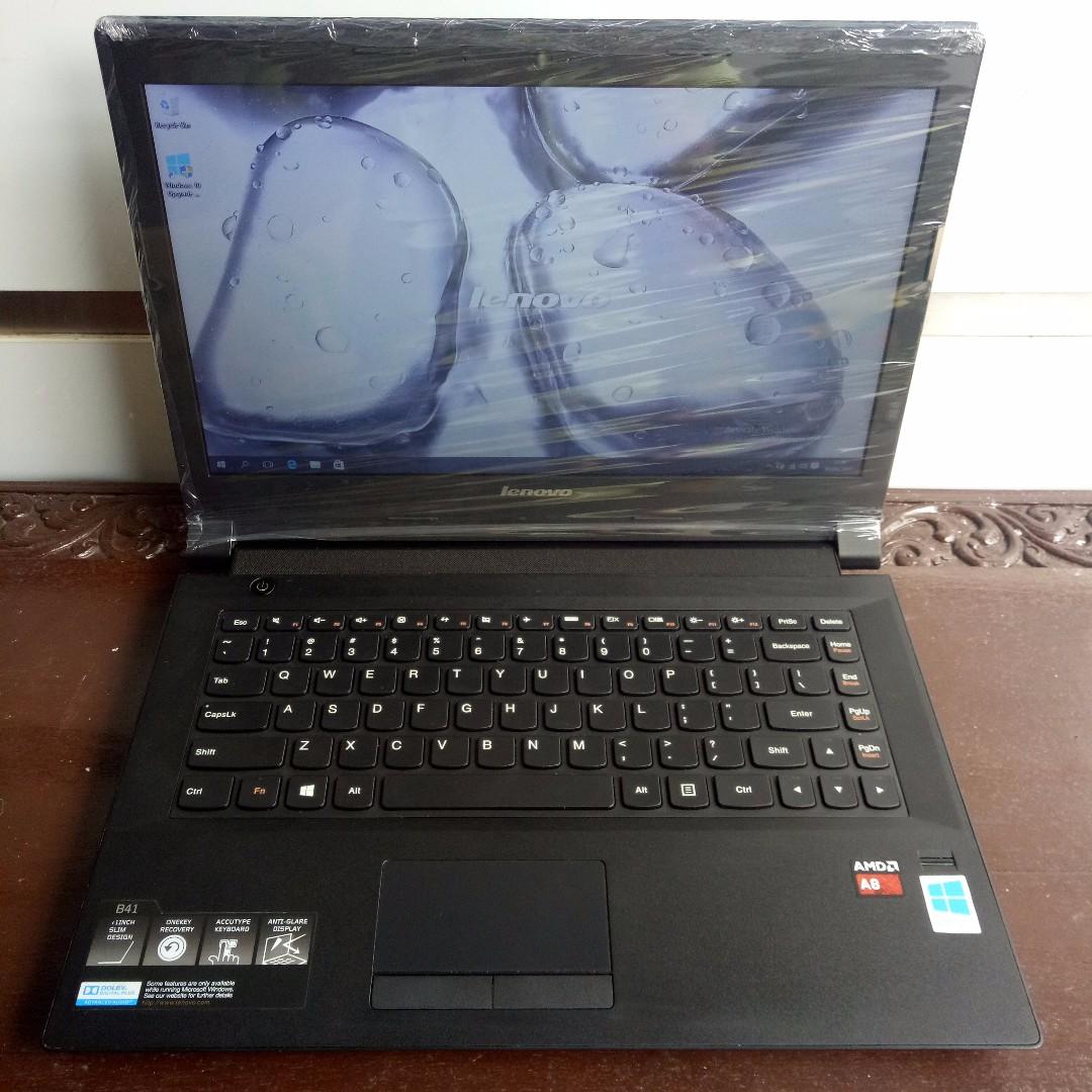 Laptop Gaming Desain Lenovo B41-80LD Slim AMD A8 R5 Graphics 2GB