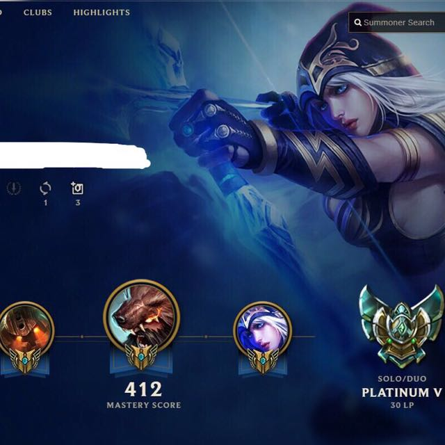 League Of Legends Plat V Account Toys Games Video Gaming Video