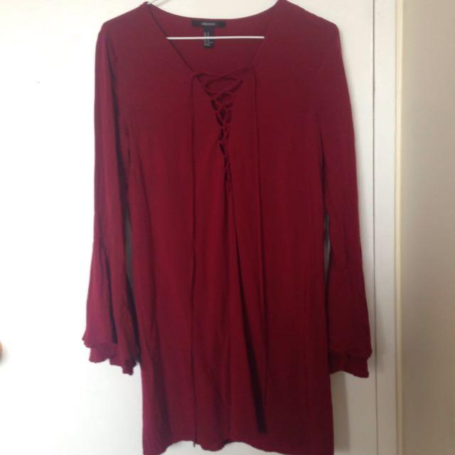 Long Sleeve Dress Forever 21
