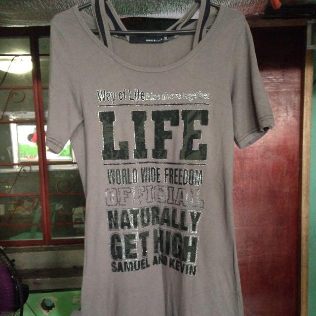 Long Top Shirt / Dress