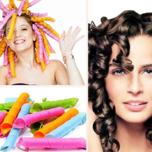 Magic Laverag / Alat Pengeriting Rambut Tanpa Listrik / Hair Curler