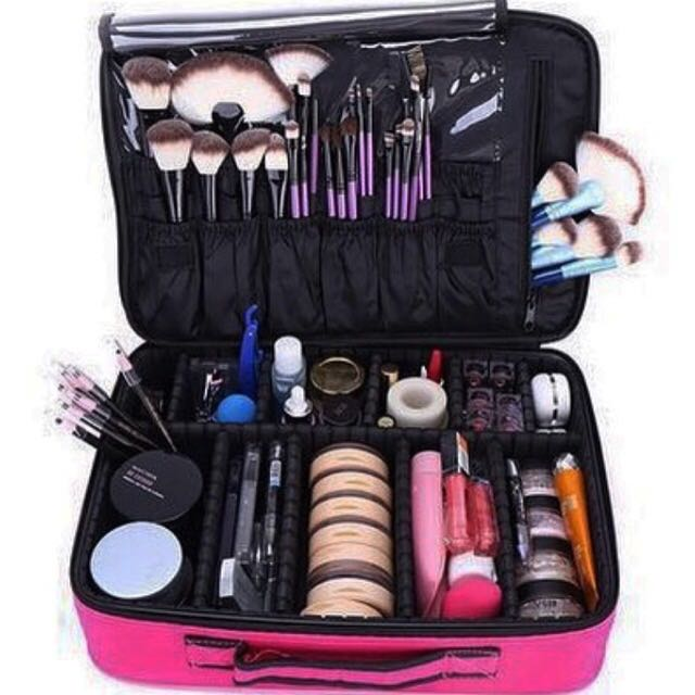 Makeup Bag With Compartments