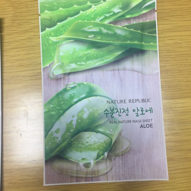 MASKER NATURE REPUBLIC MASK SHEET KOREA