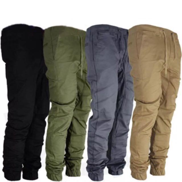 Men's Chino Pants Trousers