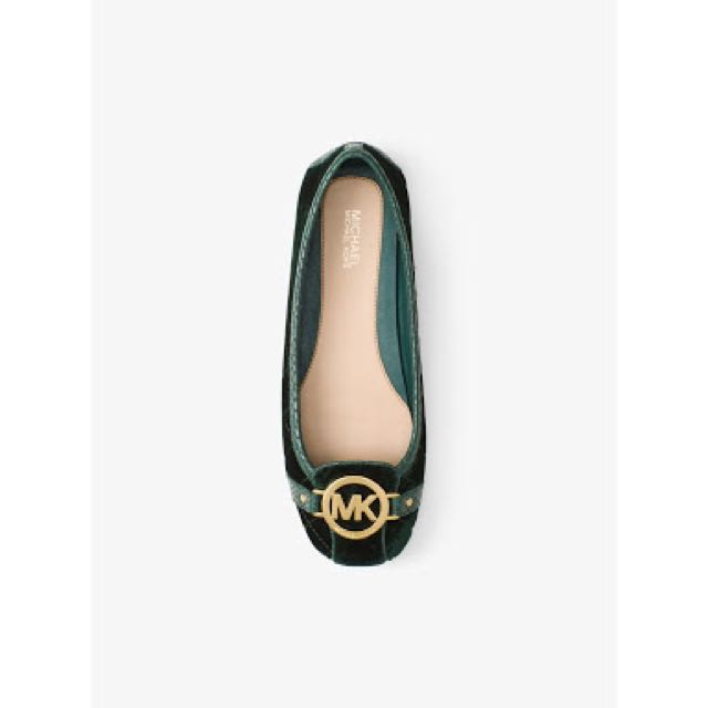 Michael Kors Quilted-Velvet Fulton Shoes