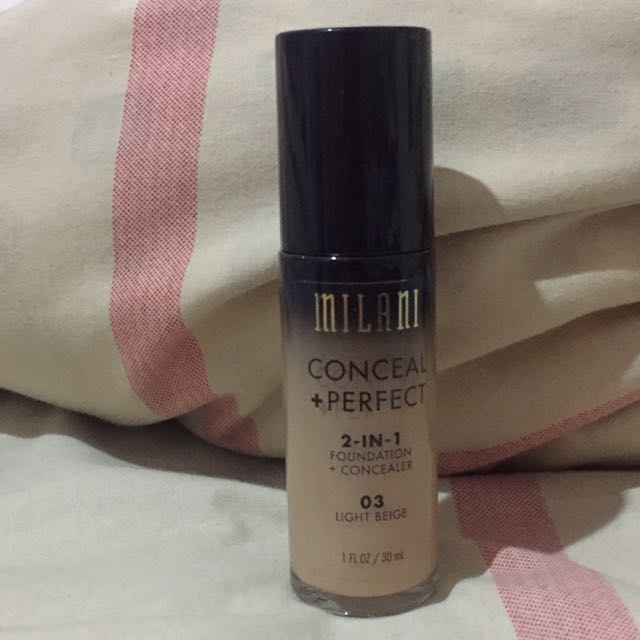 Milani Perfect Conceal 2 in 1 Foundation