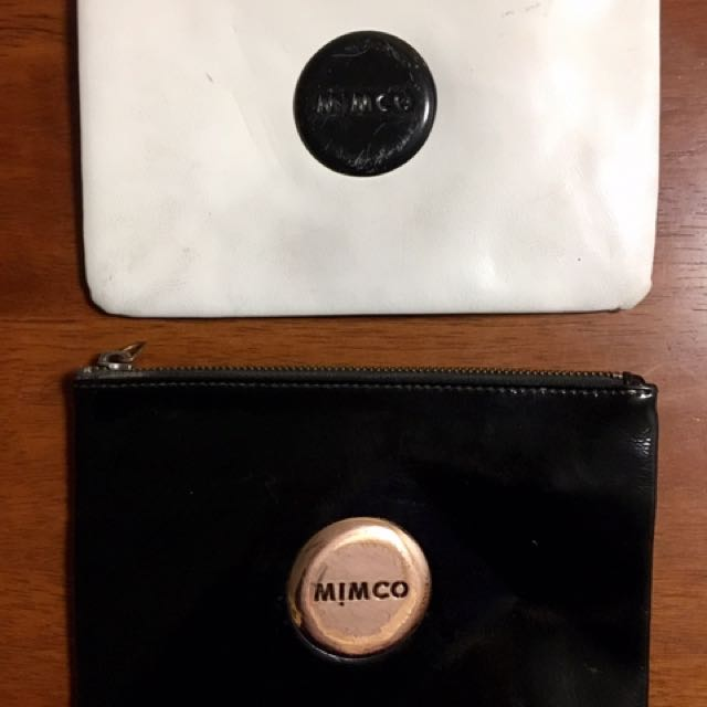 Mimco Medium Pouches- $10 for the two!