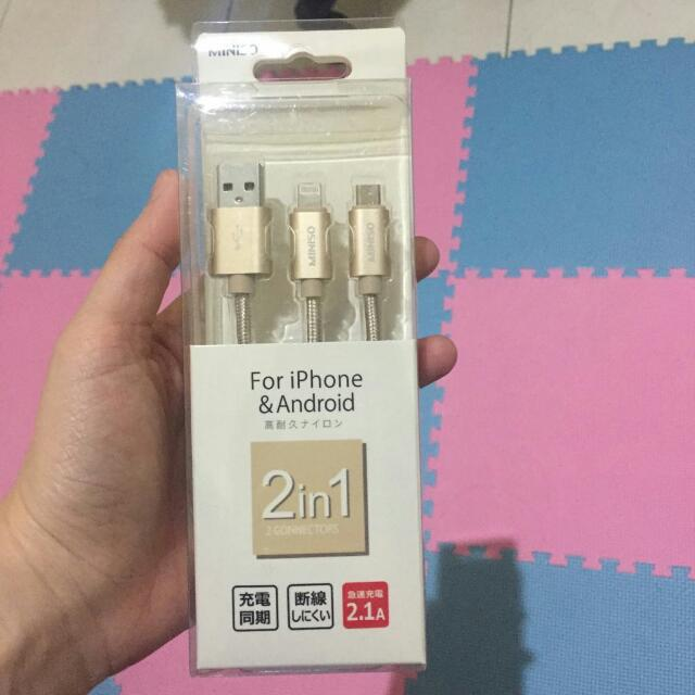 MINISO DOUBLE USB CHARGER