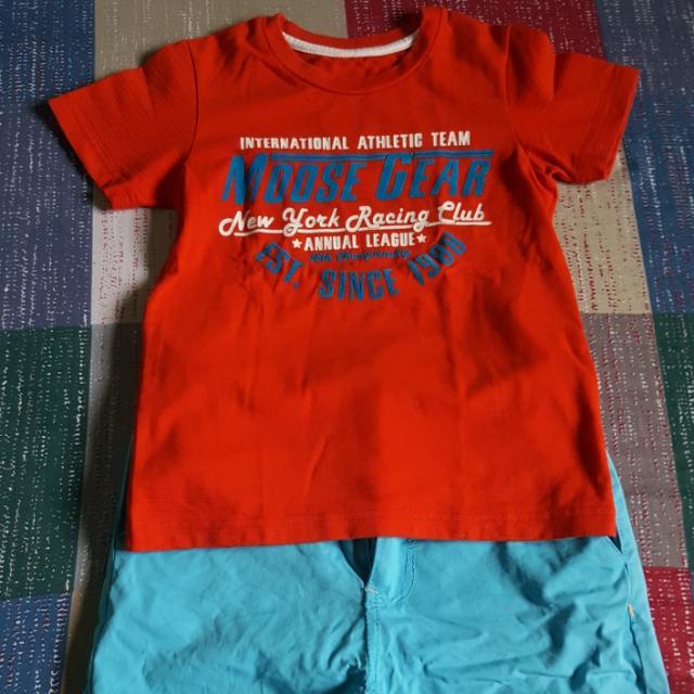 MooseGear Shirt & RedTag Short
