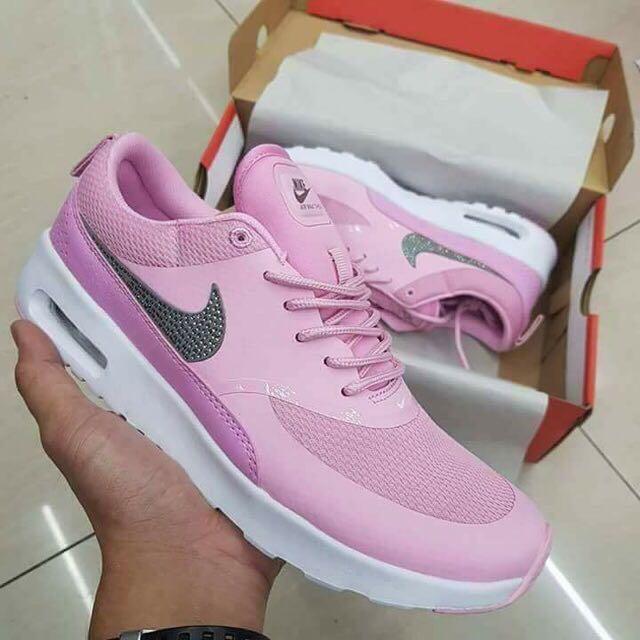 a081c3dff2b8fe NIKE AIR MAX THEA W  RHINESTONES - Premium Pink Glaze