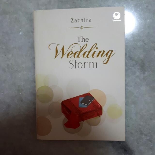 Novel The Wedding Storm
