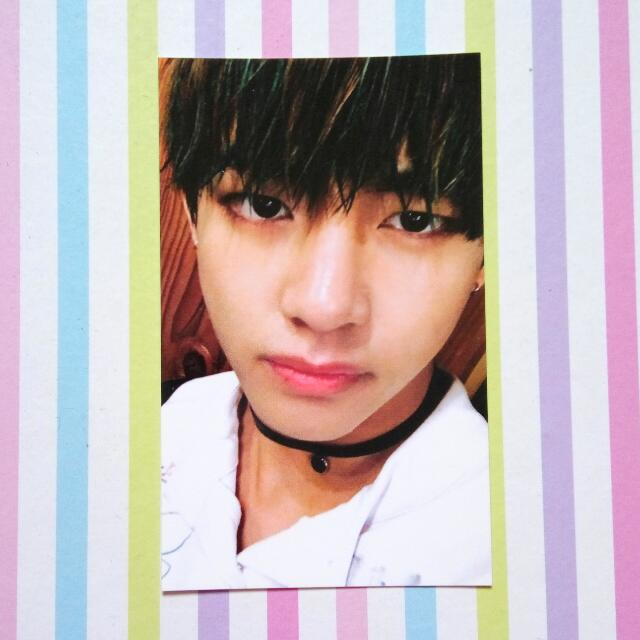 [Official Photocard] BTS HYYH/ITMFL Pt 2 - V/Taehyung