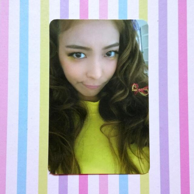 [Official Photocard] f(x) 4th Album 4 Walls - Luna