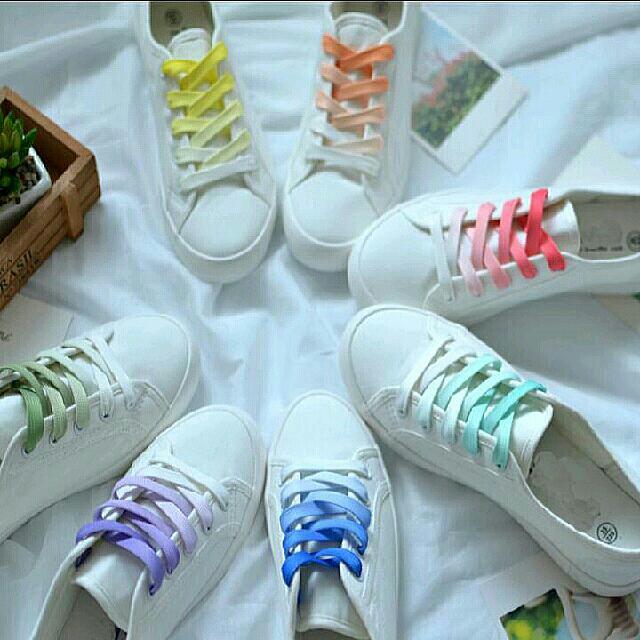 Ombre Shoelaces, Women's Fashion, Shoes