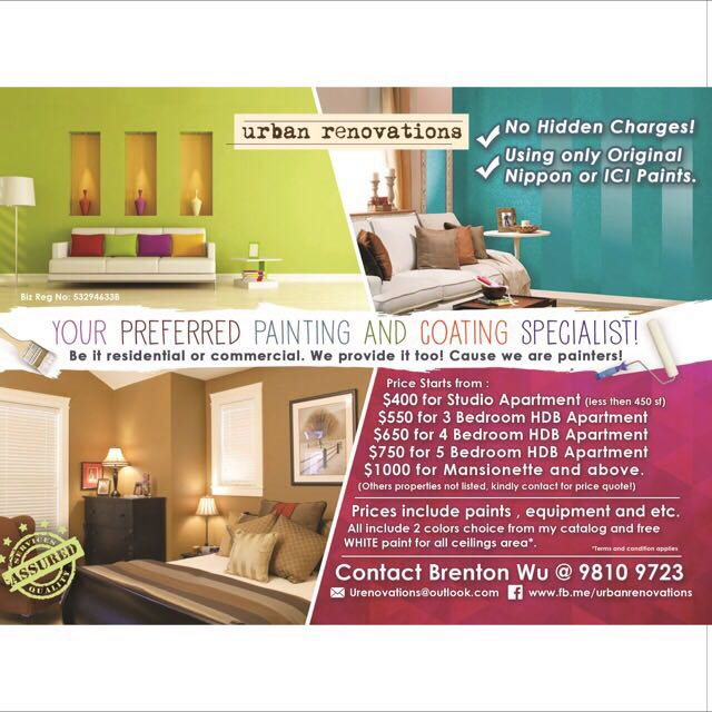 Painting Services For All Office Homes Professional