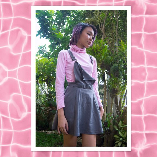 Pastel Pink Turtleneck