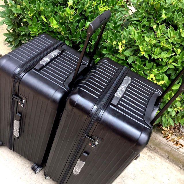 運動行李箱PC材質拉鏈行李箱大冰箱