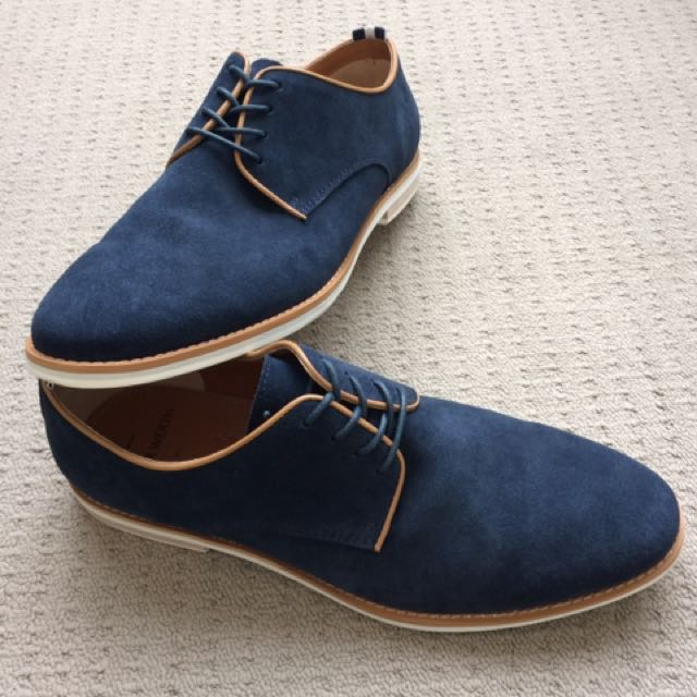 Peter Werth Blue Suede Shoes