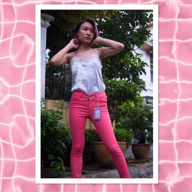 Pink GARAGE Pants