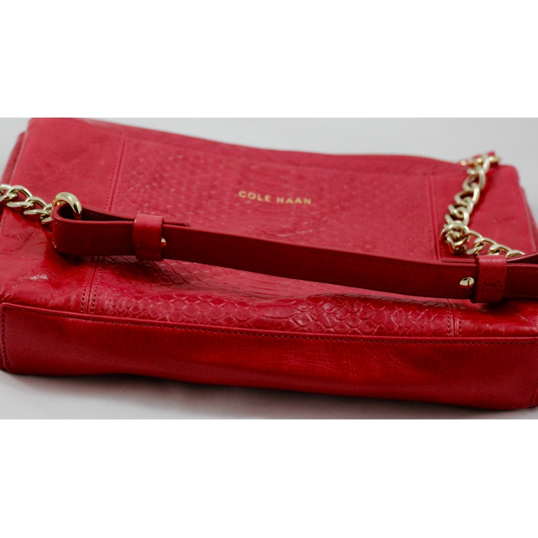 ***Pink small Cole Haan shoulder bag***